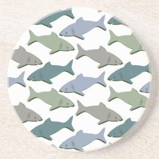 SHARKS! COASTER