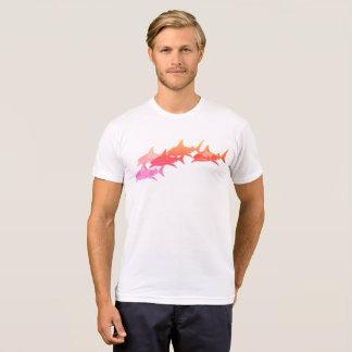 sharks, cool sea inspired white T-Shirt