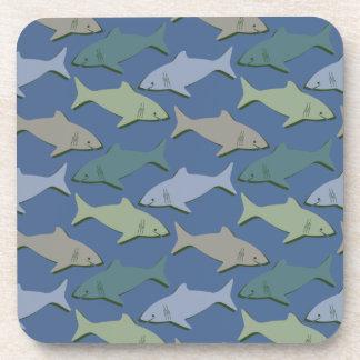 SHARKS! COASTERS