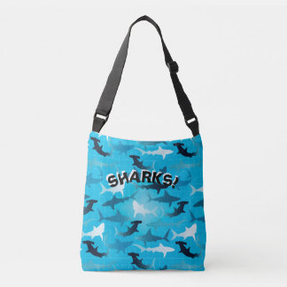 SHARKS! CROSSBODY BAG