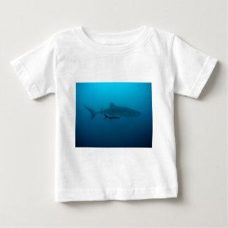 Sharks Fish Ocean Water Tropical Beach Peace Love Baby T-Shirt
