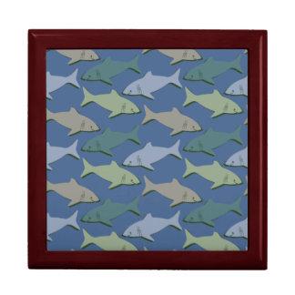 SHARKS! JEWELRY BOX