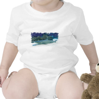 Sharks in Coral Reef Baby T-Shirt