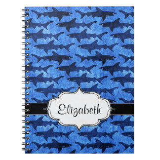 Sharks in the Deep Blue Sea Notebook