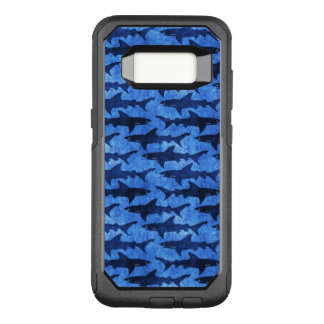 Sharks in the Deep Blue Sea OtterBox Commuter Samsung Galaxy S8 Case