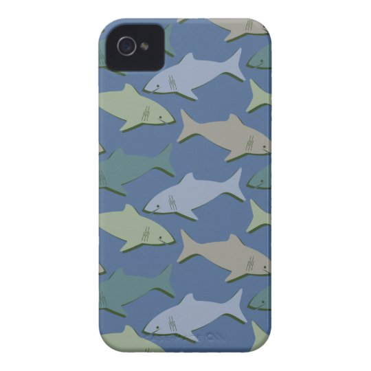 SHARKS! iPhone 4 COVER