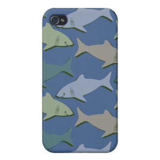 SHARKS! iPhone 4/4S CASES