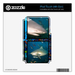 Sharks iPod Touch 4th Gen Skin iPod Touch 4G Decals