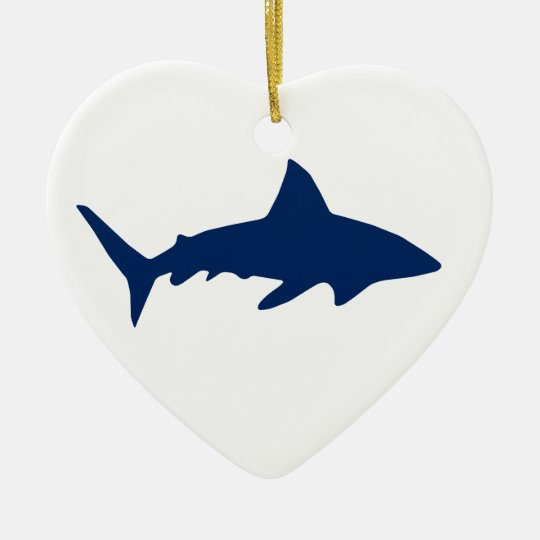 Sharks/Jaws Ceramic Ornament