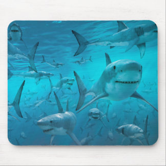 Sharks Mouse Pad