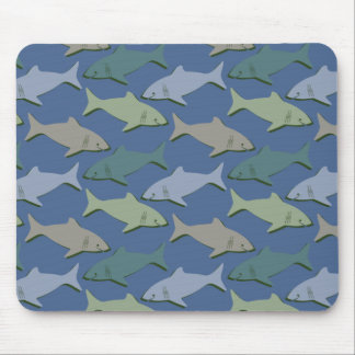 SHARKS! MOUSE PAD
