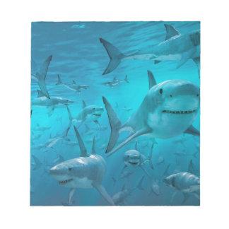 Sharks Notepad
