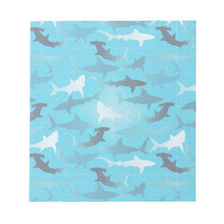 sharks! memo pads