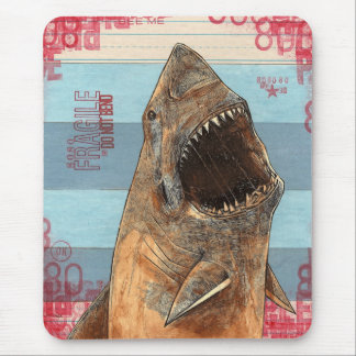 SHARKS OF THE DEEP MOUSEPAD