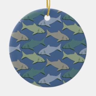 SHARKS! CHRISTMAS ORNAMENT