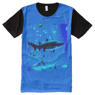 Sharks Panel T-Shirt