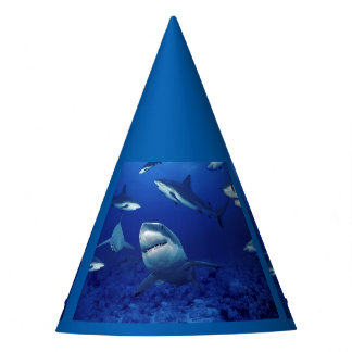 Sharks Party Hat