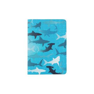 sharks! passport holder