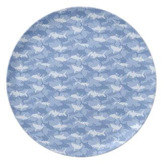 Sharks Dinner Plate