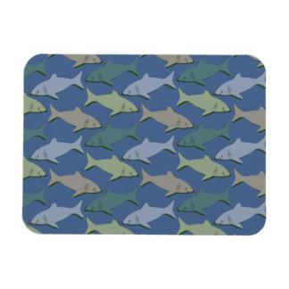 SHARKS! FLEXIBLE MAGNET