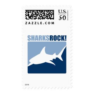 Sharks Rock #2 Postage