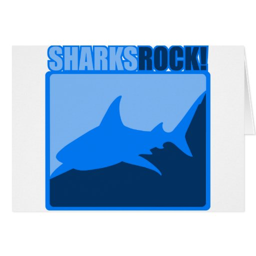 Sharks Rock Card