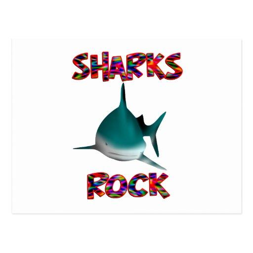 Sharks Rock Postcard