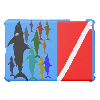 Sharks - Scuba ipad Case