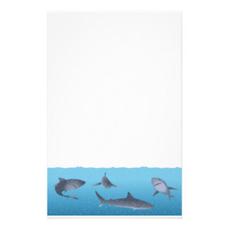 Sharks Stationery