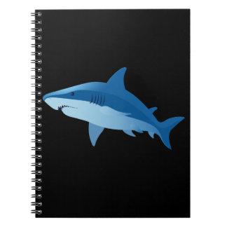 Sharks swimming notebook