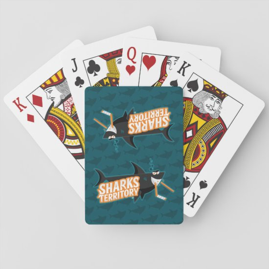 Sharks Territory - Playing Cards