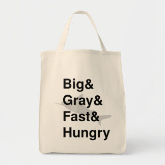 Sharks, they're all that. tote bag
