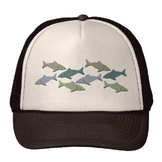 SHARKS! TRUCKER HAT