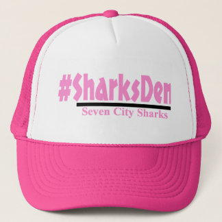 #SharksDen - Pink Cap