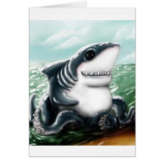Sharktopus Cards