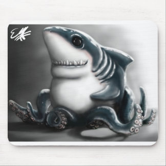 SHARKTOPUS MOUSE PAD