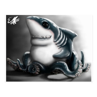 SHARKTOPUS POST CARD