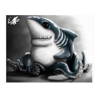 SHARKTOPUS POSTCARDS