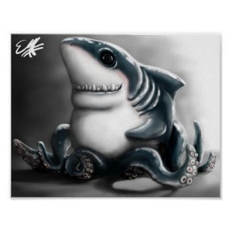 SHARKTOPUS PRINT