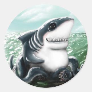 Sharktopus Sticker