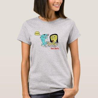 Sharky and SeaHag T-Shirt