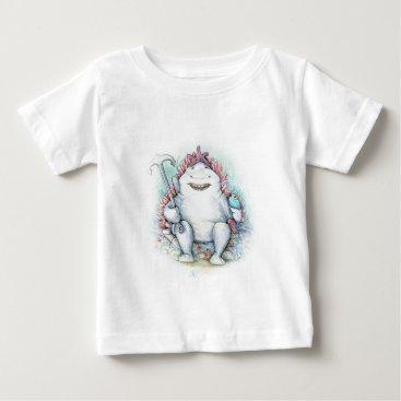 Beach Themed Sharky Baby T-Shirt