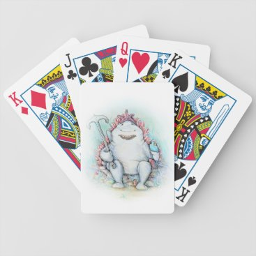 Beach Themed Sharky Bicycle Playing Cards