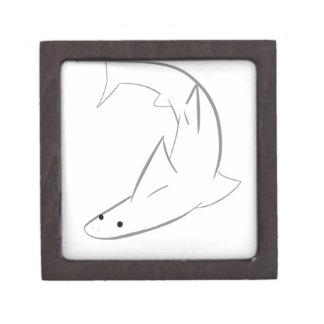 Sharky Friend Keepsake Box