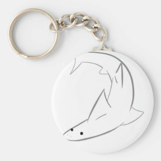 Sharky Friend Keychain