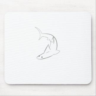 Sharky Friend Mouse Pad
