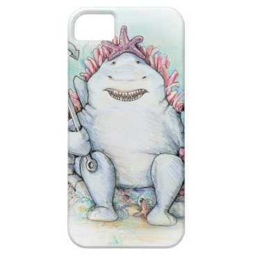 Beach Themed Sharky iPhone SE/5/5s Case