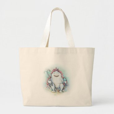 Beach Themed Sharky Large Tote Bag