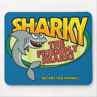 Sharky Mouse Pad