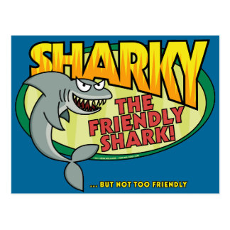 Sharky Postcard